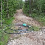 Här startade vi nere i Sågliden